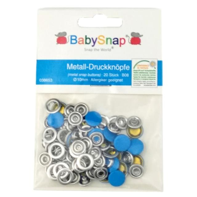 Baby Snap button metal 30un -Ref.105806.10,5-