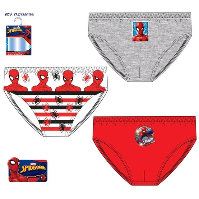 Slip Spiderman 3un -Ref.TH3033.02/03 Col.surtido-