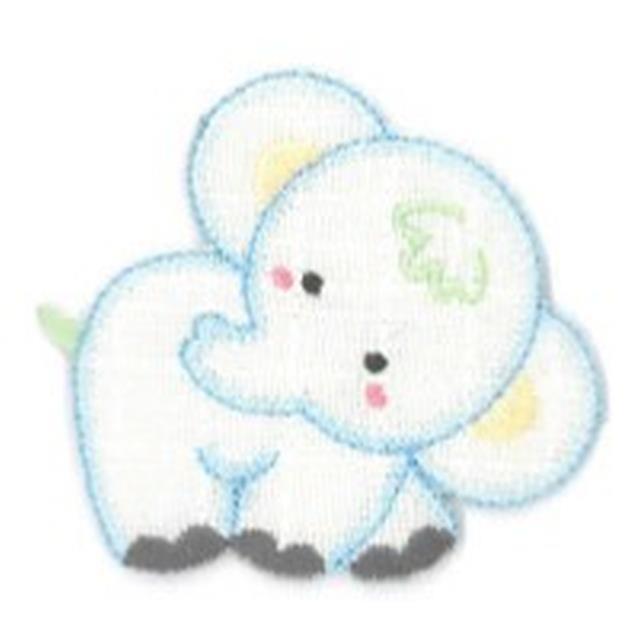 Aplicación p/canast. Elefante 1u -Ref.15327.12-
