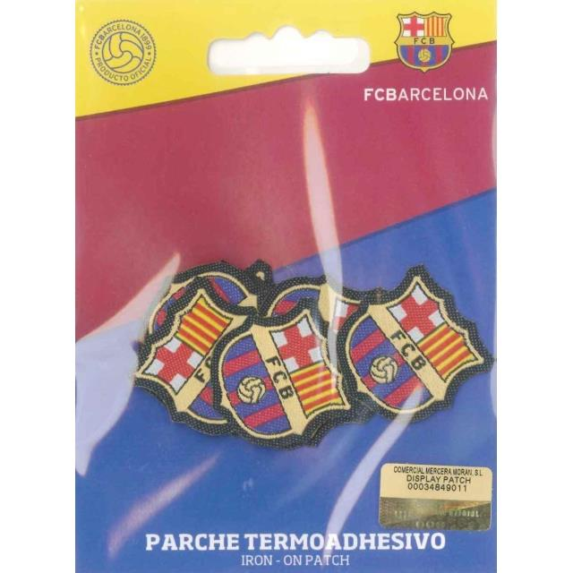Escudo bordado FCB Mini 10u -Ref.6023-