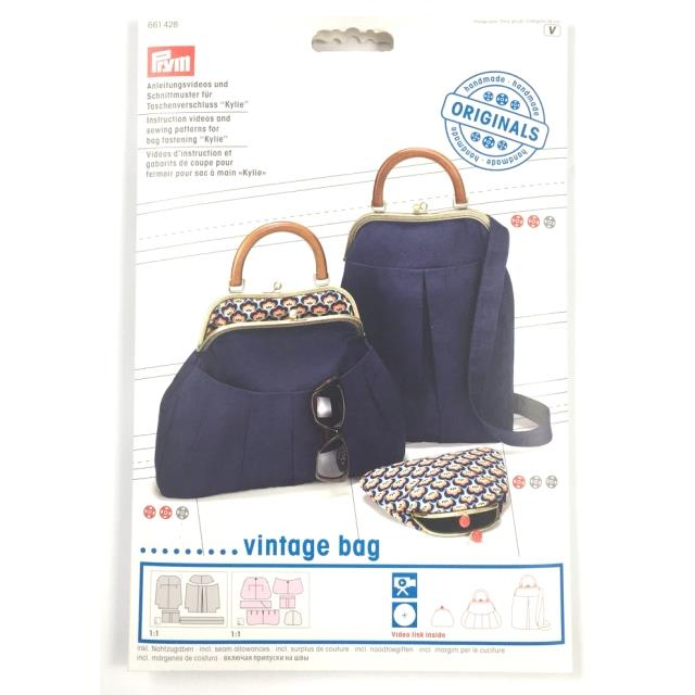 Video instrucciones vintagebag -Ref.661428-