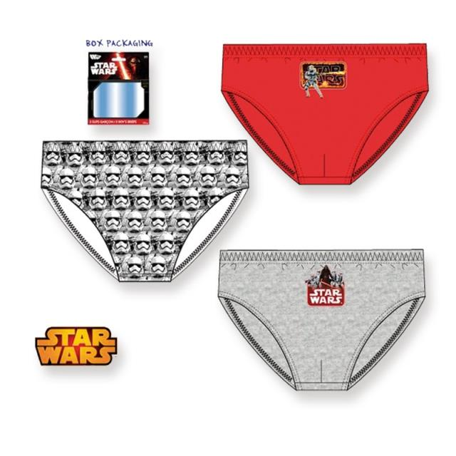 Slip Star Wars 3u -Ref.TX-PH3034.06/08 Col.surtido-