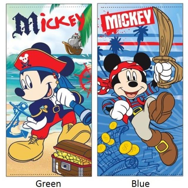 Toalla playa Mickey -Ref.ER4365 Col.green-