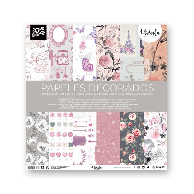 Papel decorado doble cara 12u -Ref.1110958513-