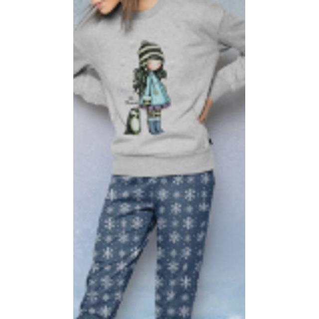 Pijama Gorjuss The Blizzard -Ref.50782 Col.azul-