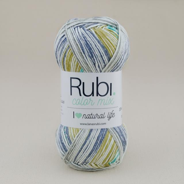 Rubí Color Mix 50%alg 100gr 5u -*Ref.VHA18-
